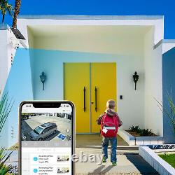 Nucam Solar Powered Wifi Security Camera Wireless Outdoor Ptz 64gb Memory Card
