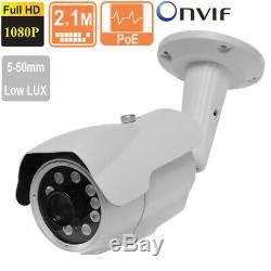 Plaque D'immatriculation Reconnaissance Caméra Ip 2.1mp 1080p De Varifocale 10 Voyants Del