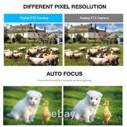Poe 30x Zoom Hd 1080p 2.0mp Extérieur Ptz Ip Speed Dome Camera Waterproof Ir-cut