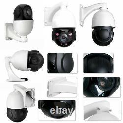 Poe Intégré Poe 30x Zoom 5mp Extérieur Hd Ptz Ip Speed Dome Caméra Ir Night Vision