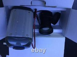 Pro Sony Color 5-120mm Zoom 12v Dc/24v Ac Cctv Plaque D'immatriculation Camera+housing Kit