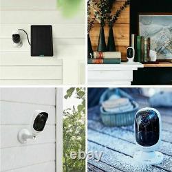 Reolink Argus 2 Sécurité Caméra Ip Wifi Batterie Rechargeable Solaire Power Panel