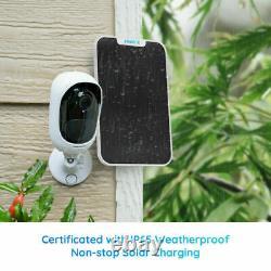 Reolink Argus Pro Wifi Ip Security Camera 1080p Batterie Alimentée Par Panneau Solaire