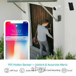 Reolink Go 4g Lte Réseau Mobile Rechargeable Caméra De Sécurité + Panneau Solaire