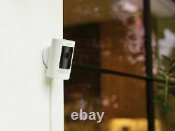 Ring Stick Up Cam Battery Hd Security Cam (3ème Génération) Avec 2 Voies Talk, Nouveau - Sealed