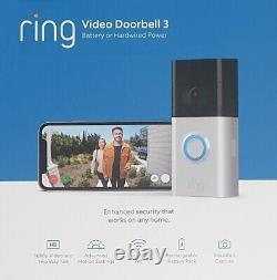 Ring Video Doorbell 3 Wire Free Video Doorbell Wireless Home Security Camera