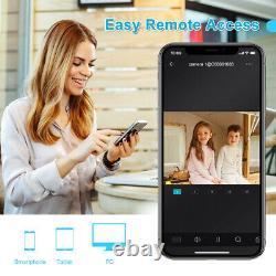 Smartsf 4ch 1080p Dvr Extérieur Accueil Système De Caméra De Sécurité Hd Enregistreur Cctv