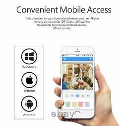 Smartsf Wireless 8ch Nvr Security Camera System Surveillance Extérieure Cctv À Domicile