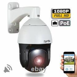 Sunba Poe Sony 20x Zoom Hd 1080p 2.0mp Extérieur Ptz Ip Speed Dome Camera
