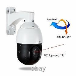 Sunba Poe Sony 20x Zoom Hd 1080p 2.0mp Extérieur Ptz Ip Speed Dome Caméra