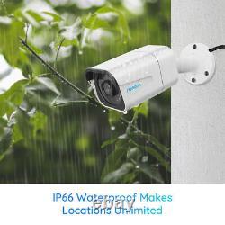Système De Caméra De Sécurité 4k 8mp Poe Ip 8ch Nvr Kit Home Surveillance Rlk8-800b4