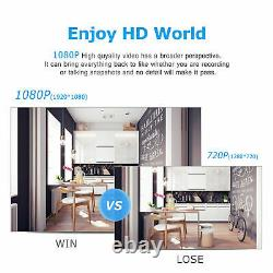 Système De Caméra De Sécurité Cctv Outdoor Wireless 1080p Hd Home Avec Disque Dur De 1 To