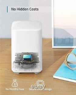Système De Sécurité Sans Fil Eufy Eufycam 2c 1080p Wi-fi Caméra Extérieure Vision Nocturne