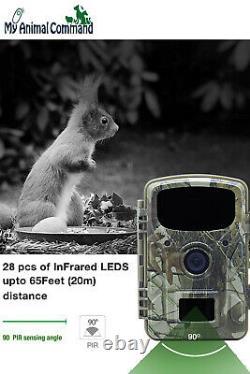 Trail Jeu À Énergie Solaire De Sécurité Étanche Caméra Espion Furtif Ir Vision Nocturne