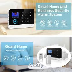 U68 App Wifi Nuage Gsm Sans Fil À Domicile Système D'alarme De Sécurité + Caméra Ip + Accès Rfid