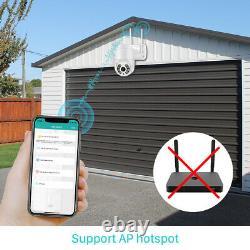 Us 1080p Sans Fil Wifi Ip Caméra Extérieure Cctv Hd Ptz Smart Home Security Ir Cam