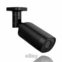 Videoüberwachung Set 5 Mp Poe Ip 4x + 5x Aussen Kameras Zoom + Audio +2000 Go Hdd