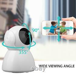 Wifi 720p Caméra De Vidéosurveillance Ir Surveillance De Sécurité Infrared Night Vision Home Indoor
