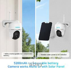 Wifi Battery Power Security Camera Pan Tilt Outdoor Waterproof Reolink Argus Pt