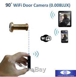 Wifi Sans Fil Porte Judas Caméra De Détection De Mouvement D'enregistrement Pour Iphone Smartphone