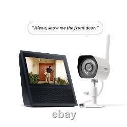 Zmodo 1080p Wifi Intérieur/extérieur Caméras De Sécurité Maison Avec Vision Nocturne 4-pack