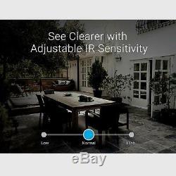 Zmodo Replay 4ch Nvr 4 Extérieur Audio Intérieur Caméra Wifi Système De Sécurité 1tb