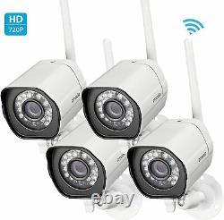 Zmodo Wifi Surveillance Hd Ip Caméra 4 Pack Accueil Et Business Security