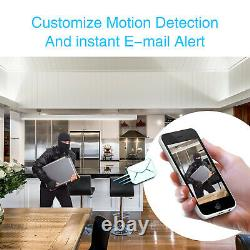 Zoohi 8ch 1080p Outdoor Wireless Security Camera System 1080p Wifi Nvr Accueil Cctv