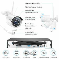 Zosi 1080p Home Security Camera System Wireless Outdoor Cctv 8ch Nvr Kit 1 To Hdd