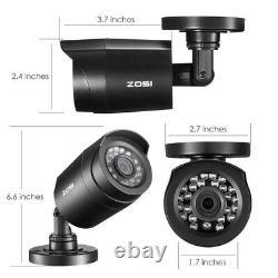 Zosi 4ch 720p Dvr Outdoor Home Surveillance Cctv Bullet Security Camera System