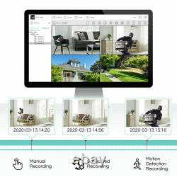 Zosi 8 Canaux Système De Caméra De Sécurité Extérieure 1080p Avec 1tb Hdd