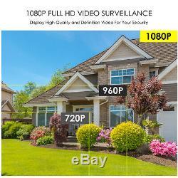 Zosi 8ch De Nvr 2mp Extérieur Hd Ip Sans Fil Home Security Camera System Wifi