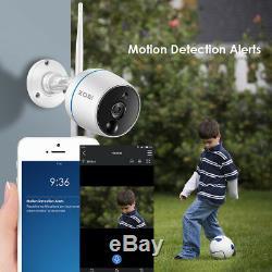 Zosi De 4ch Mini Nvr 2 Hd 2mp Wifi Ip Extérieure Système De Caméra De Sécurité Sans Fil