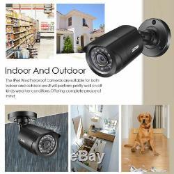 Zosi Hd 1080p Dvr 8ch 720p Extérieur Accueil Surveillance Du Système De Caméra De Sécurité 1tb